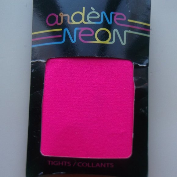 Neon Pink Tights One Size Fits Small
